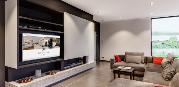 Warme Woonkamer Inrichting. Luxe Woonkamer Inrichting With Warme ...